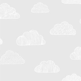 BoråsTapeter – Behang Kinderkamer – Claudia – Grey