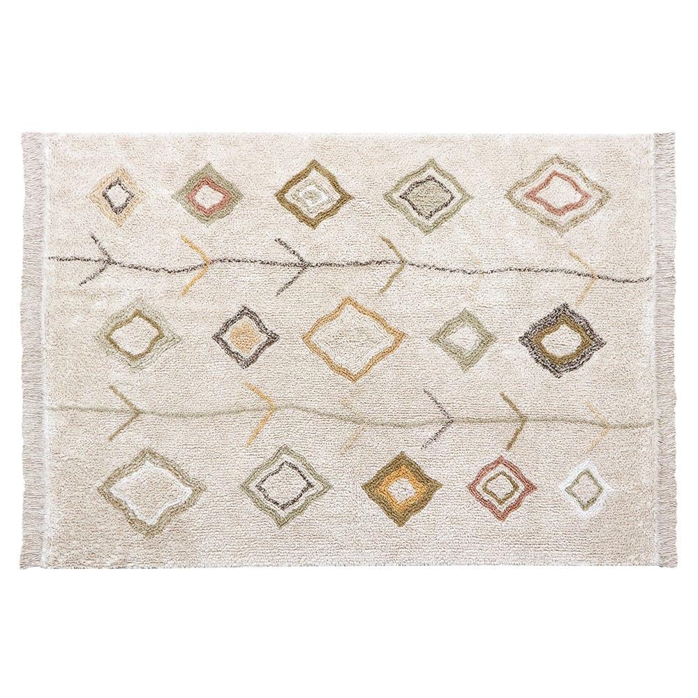 Waschbarer Teppich – Kaarol Earth – 170 x 240 cm
