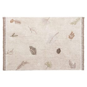 Washable Rug – Pine Forest – 170 x 240 cm