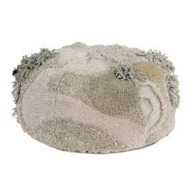 Poef – Mossy Rock – 30 x 50 cm