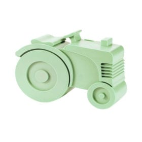 Lunch box – Tractor – Light Green