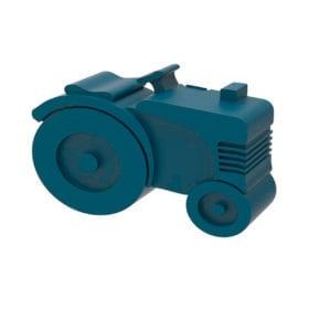 Lunch box – Tractor – Dark Blue