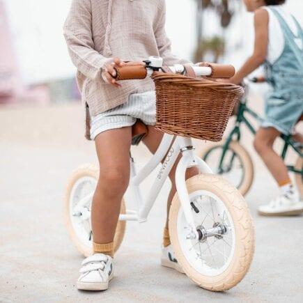 Banwood Balance Bike - First GO - Dark Green and White