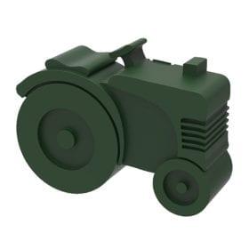 Blafre – Brotdose – Traktor – Dunkelgrün