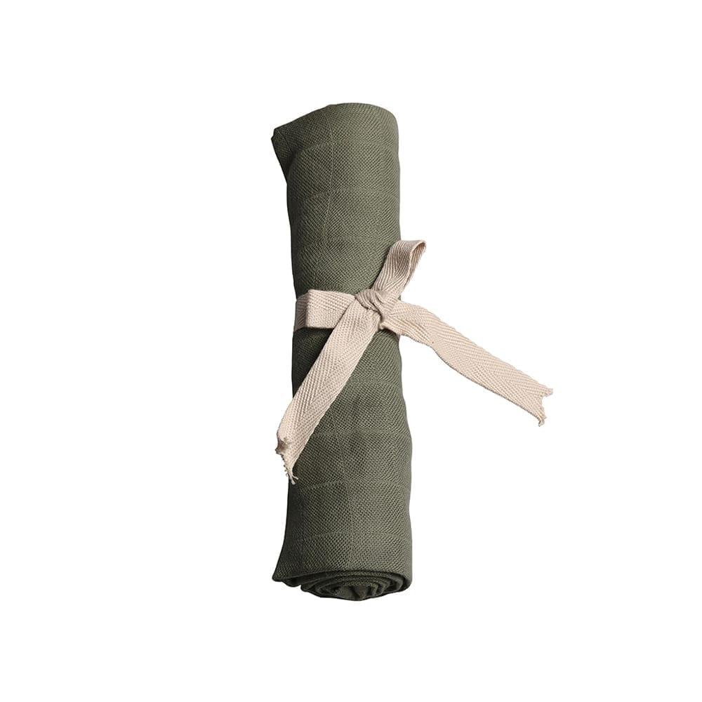 Filibabba – Muslin – Solid Olive Green