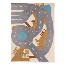 Kids Concept – City Speelkleed Aiden – 130 x 170 cm