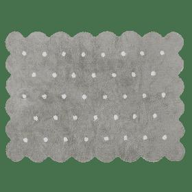 Washable Rug – Biscuit – Grey – 120 x 160 cm