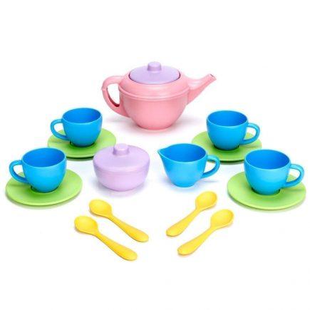 Green Toys - Tea Set - Pink