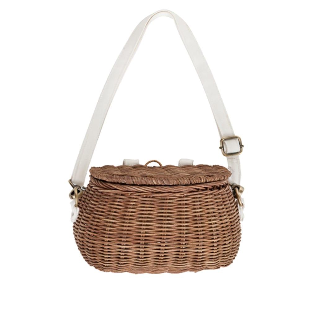 Olli Ella – Mini Chari Basket Bag – Nature