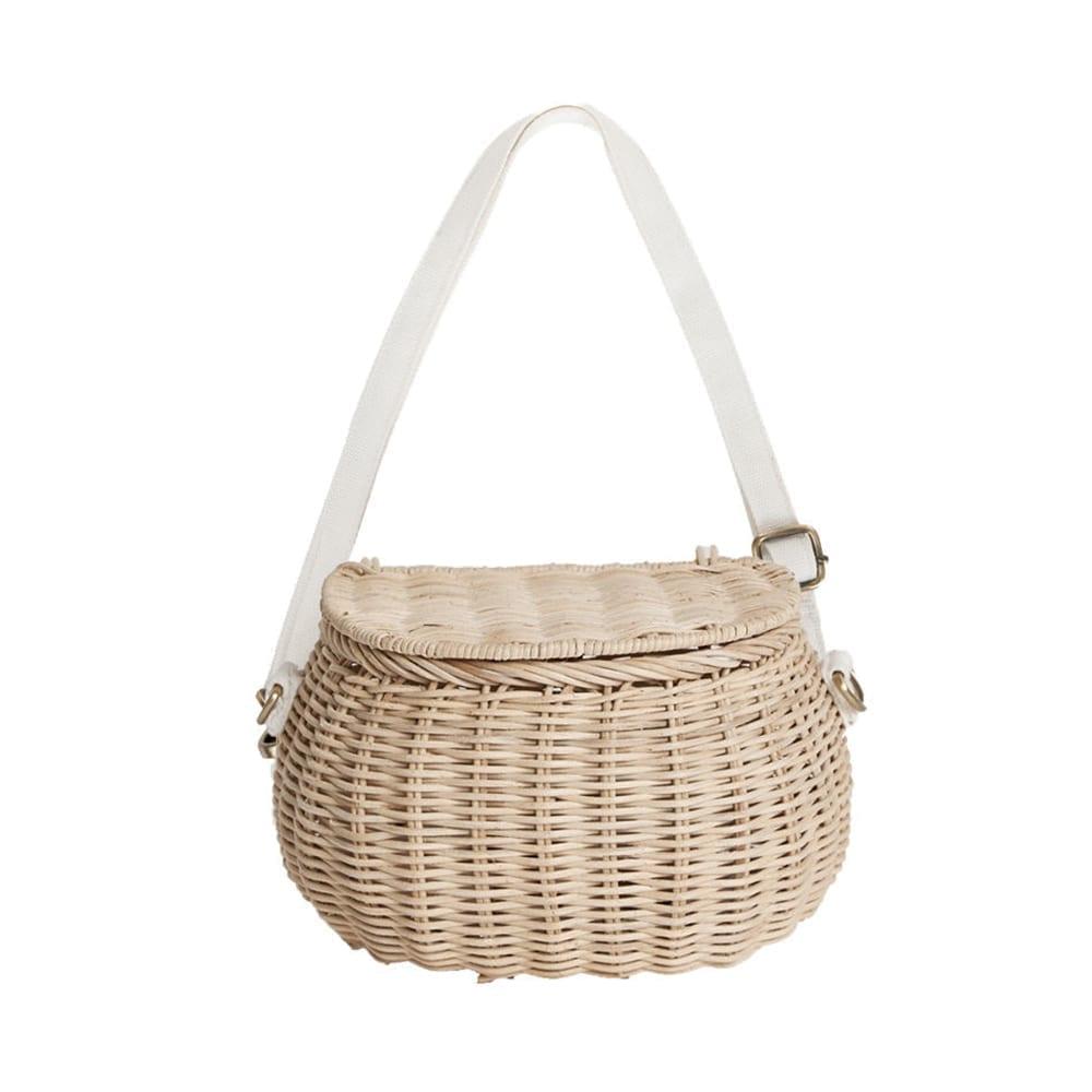 Mini Chari Basket Bag – Straw