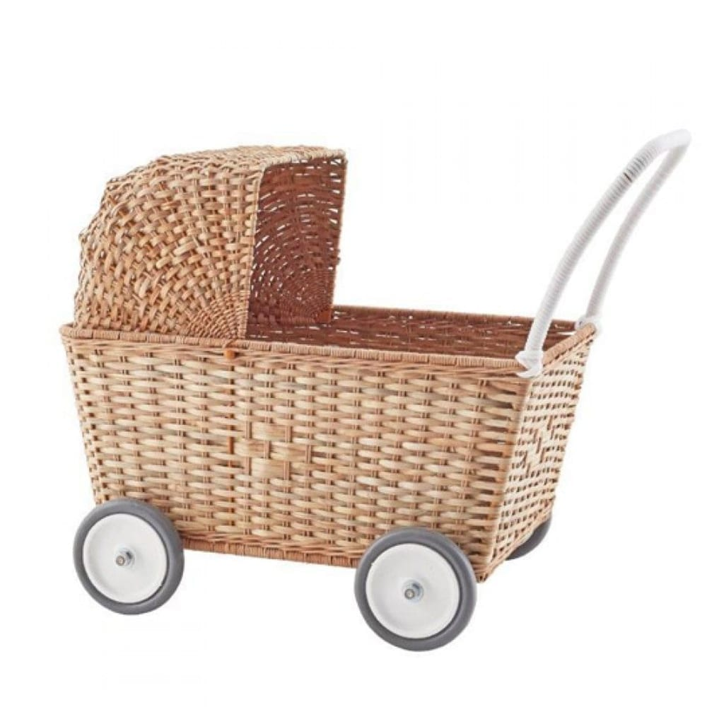 Doll Pram – Strolley – Natural