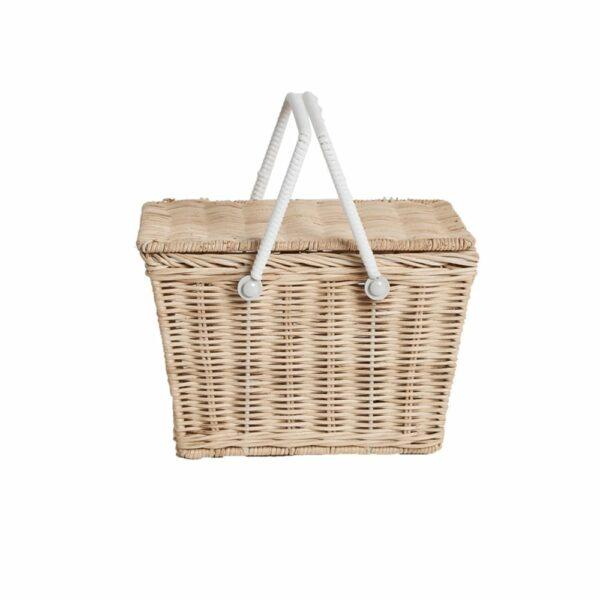 Ollie Ella Piki Basket - Straw