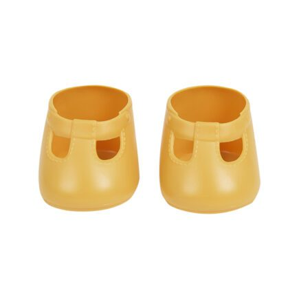 olli-ella-dinkum-doll-shoes-front-corn-yellow