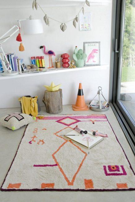 Lorena Canals Waschbarer Teppich - Saffi - 140 x 200 cm