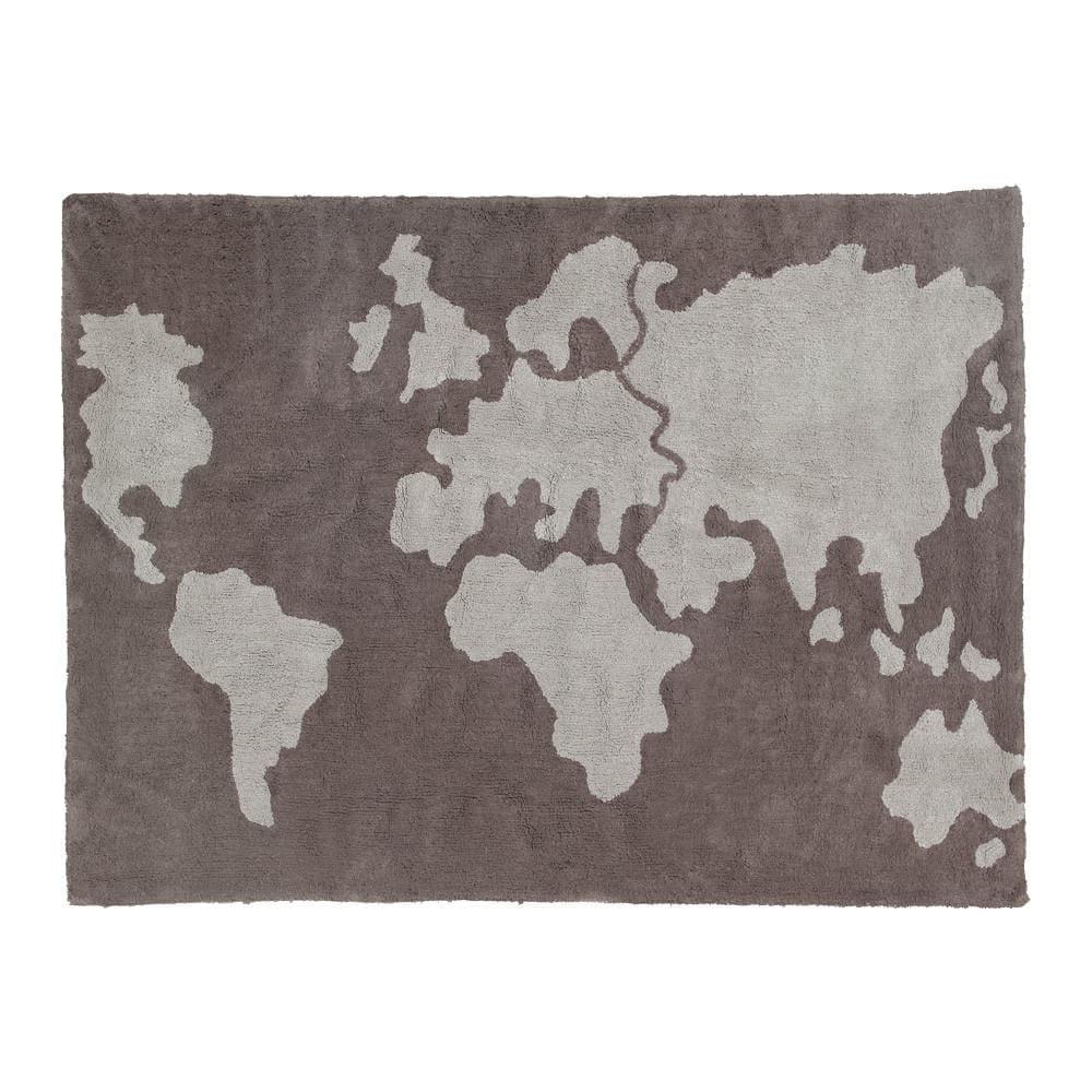 Lorena Canals Waschbarer Teppich Weltkarte Gratis Versand