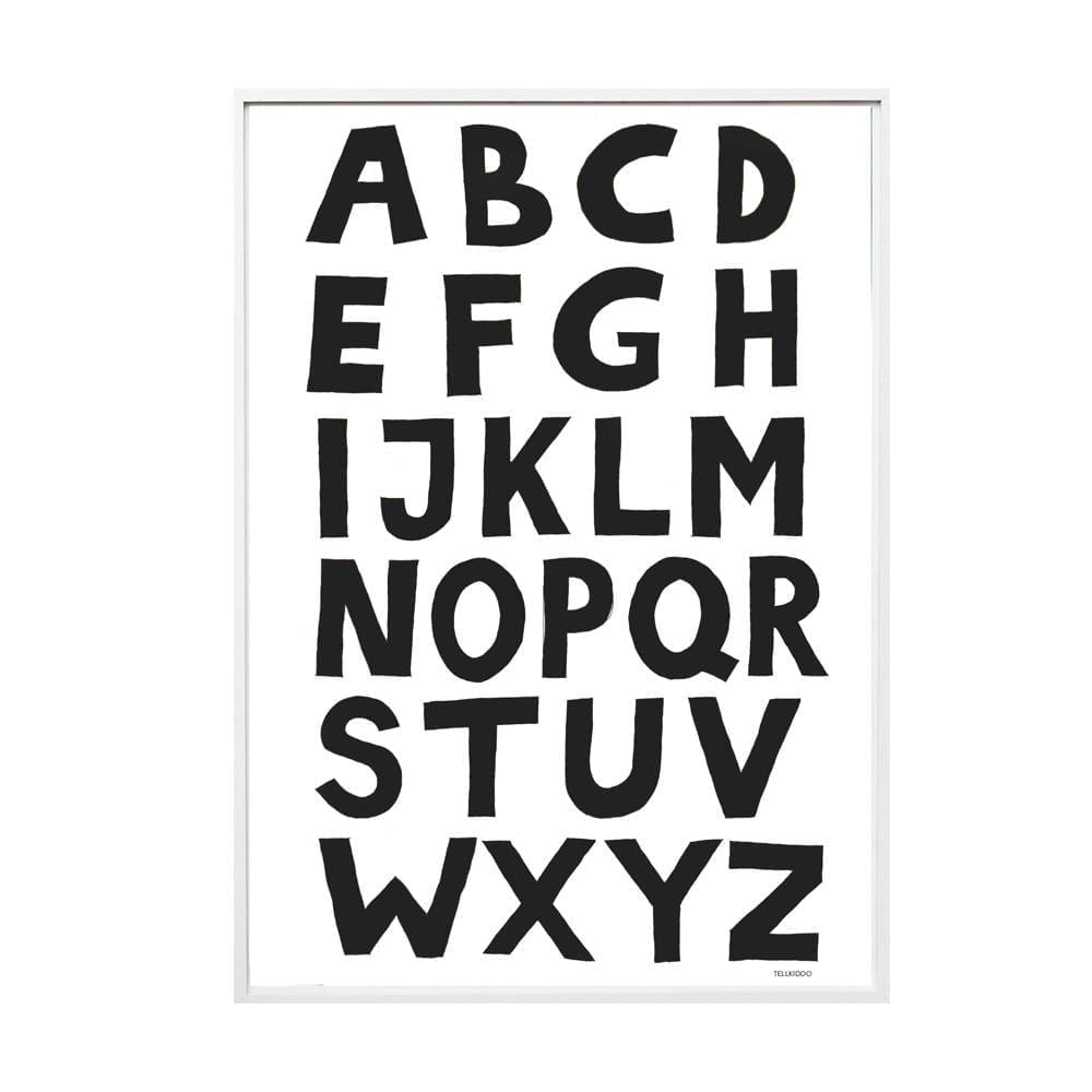 Tellkiddo – Poster ABC, A3