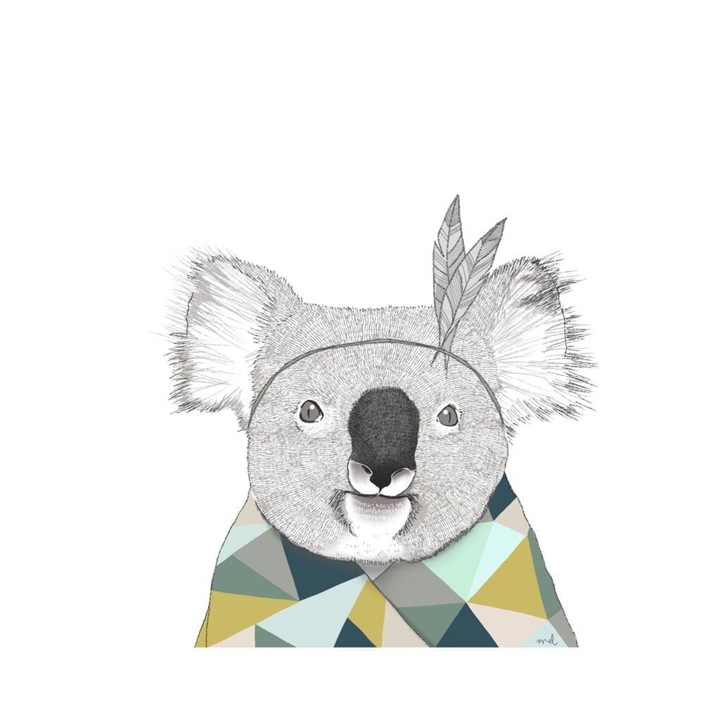 Minimel – Koala Poster- A3