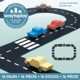 Waytoplay – Flexible Spielstraße – Expressway – 16 Teile