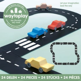 Waytoplay – Flexible Spielstraße – Highway – 24 Teile