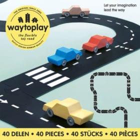 Waytoplay – Flexible Spielstraße – King of the Road – 40 Teile