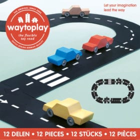 Waytoplay – Flexible Spielstraße – Ringway – 12 Teile