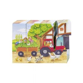 Puzzle, Seasons on the Farm Cube