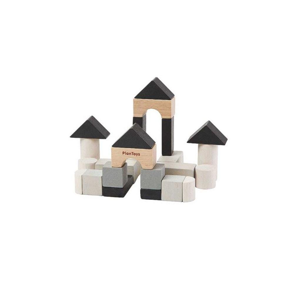 Plan Toys – Construction Blocks Set