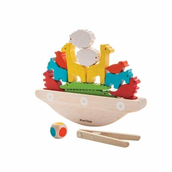 Plan Toys - Balancing Wooden Boat