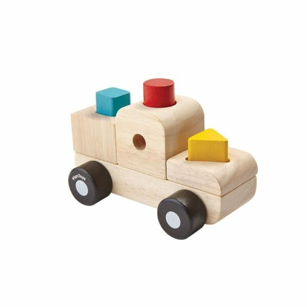 Plan Toys - Sorting Truck Puzzle