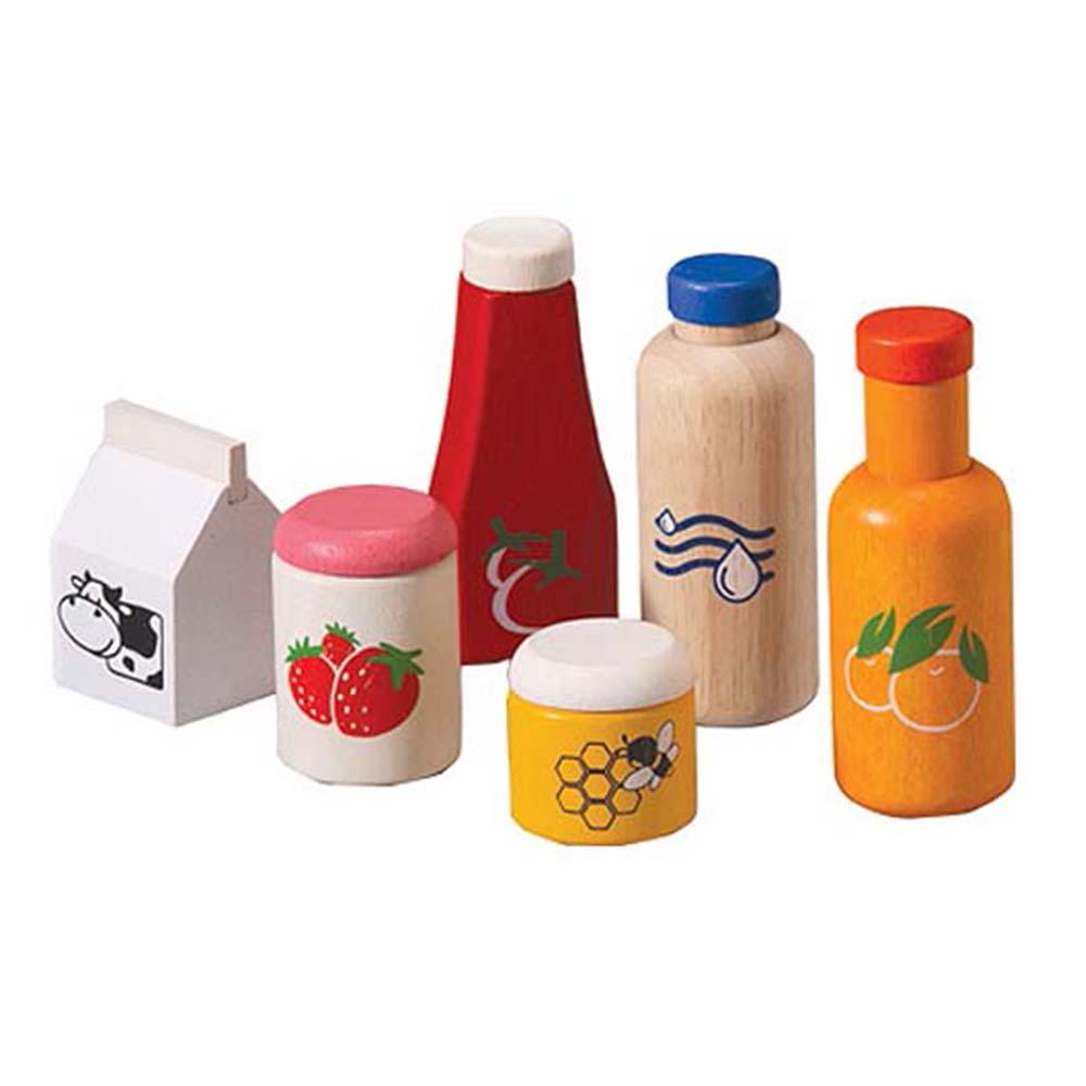 Plan Toys – Food & Beverage Set
