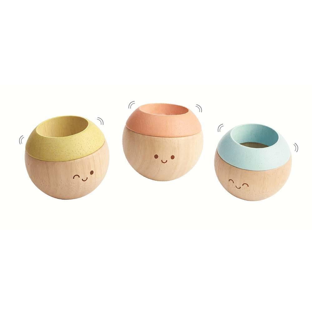 Plan Toys – Sensory Tumbling Toys in Pastel Colours