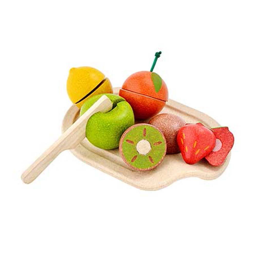 Plan Toys – Samengestelde Fruitset