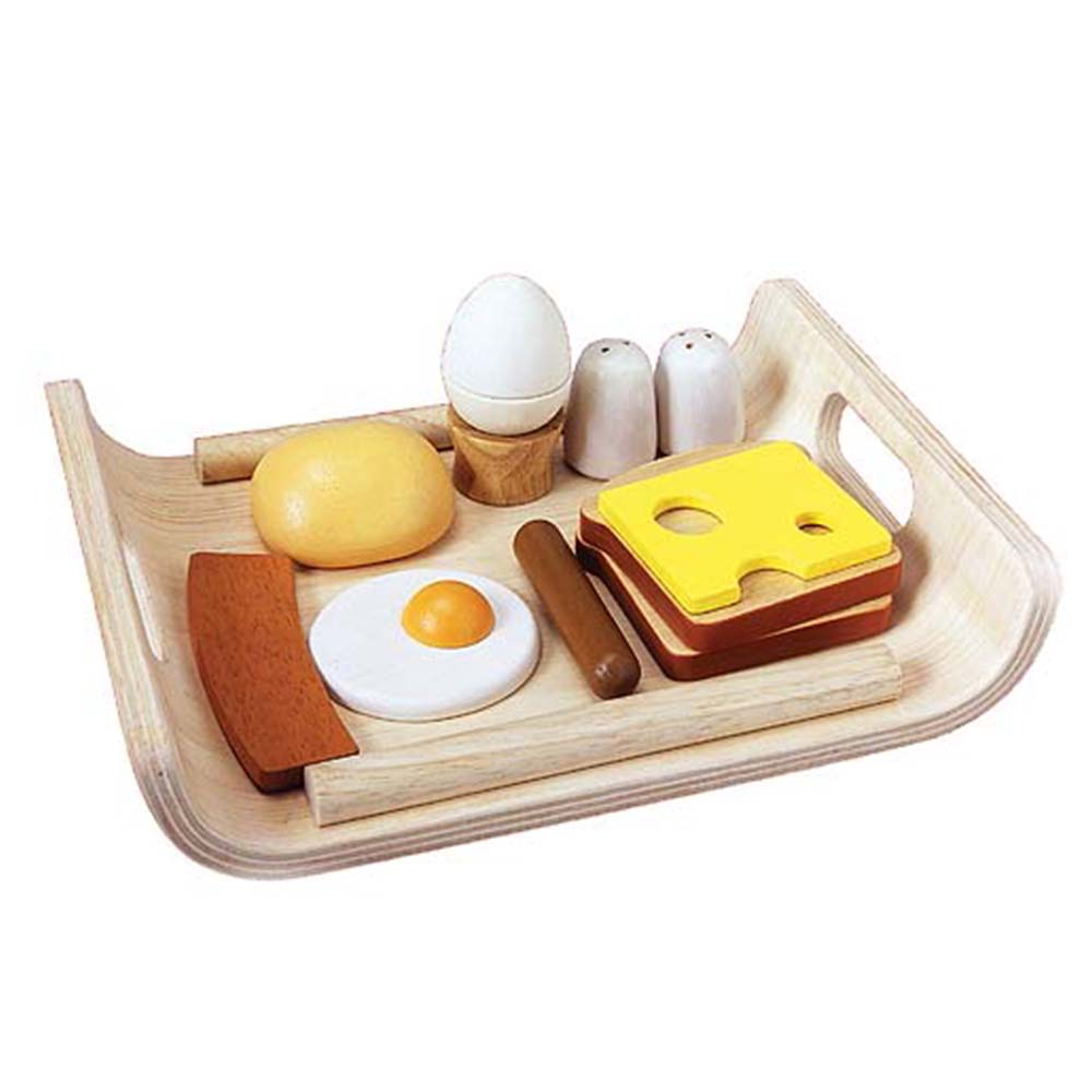 Plan Toys – Breakfast Menu Set