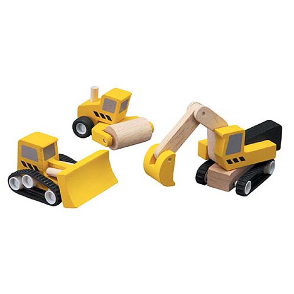 Plan Toys – Road Construction Set