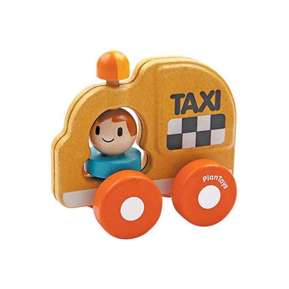 Holz Taxi Greifling