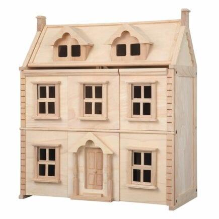 Plan Toys - Victorianisches Puppenhaus 7124