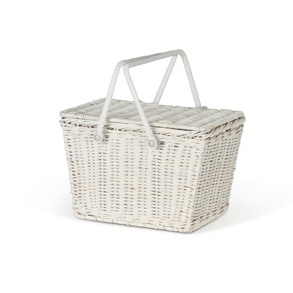Piki Basket – White