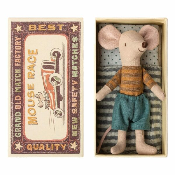 Maileg Big Brother Mouse in Box 16-8737-01