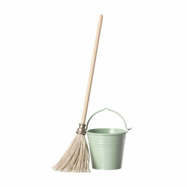 Maileg Bucket & Mop - 23 cm