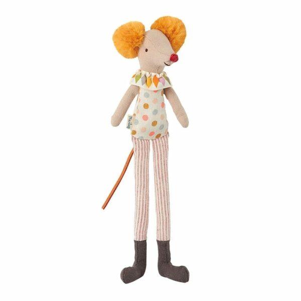 Maileg Stilt Clown Mouse - 21 cm