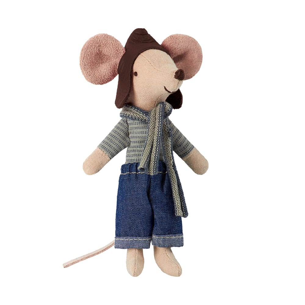 Maileg – Big Brother Mouse – Racer – 13 cm