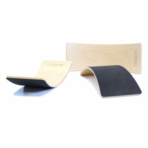 Wobbel Starter Balance Board black