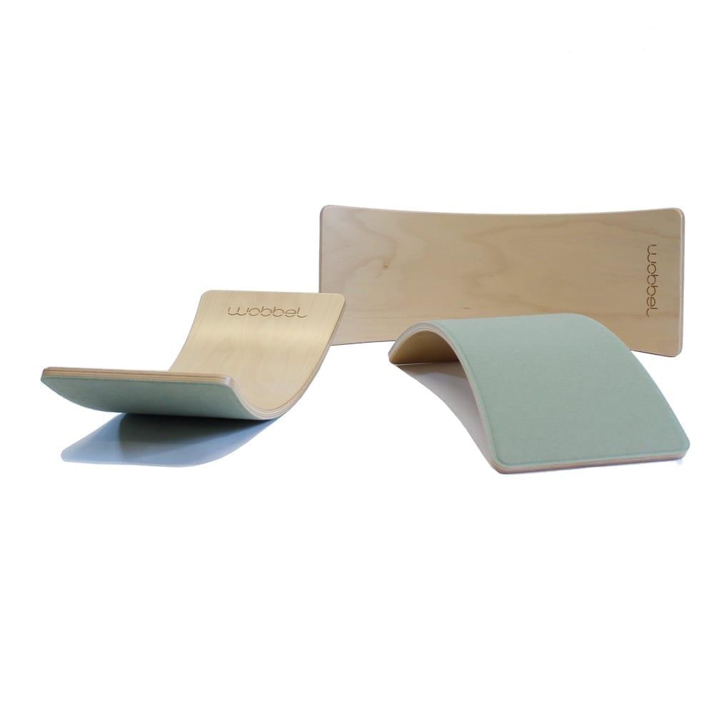 Wobbel – Starter – Balance Board – Forest – 70 x 27,5 cm