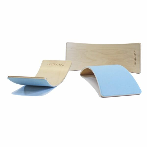 Wobbel Starter Balance Board sky