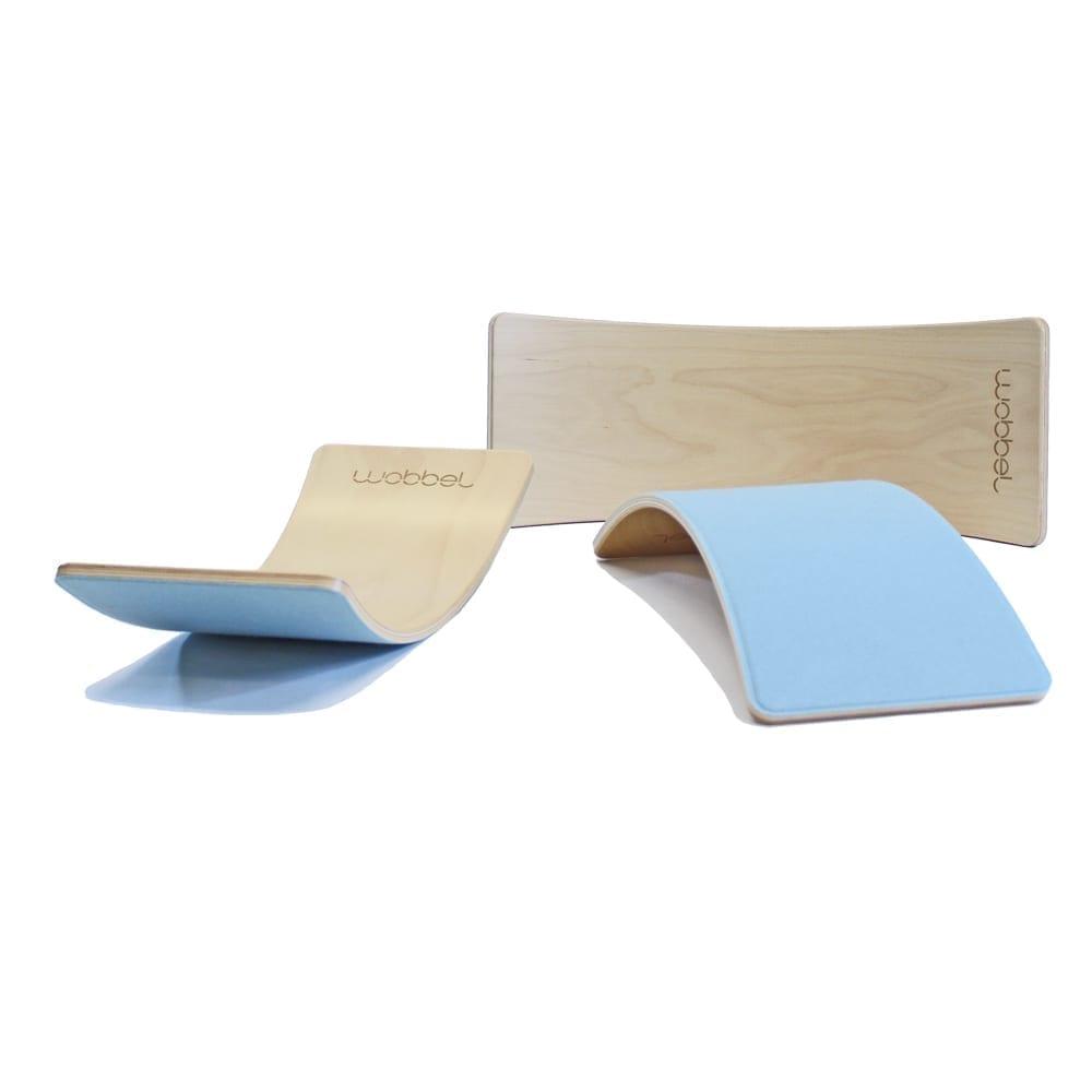 Wobbel – Starter – Balance Board – Sky – 70 x 27,5 cm