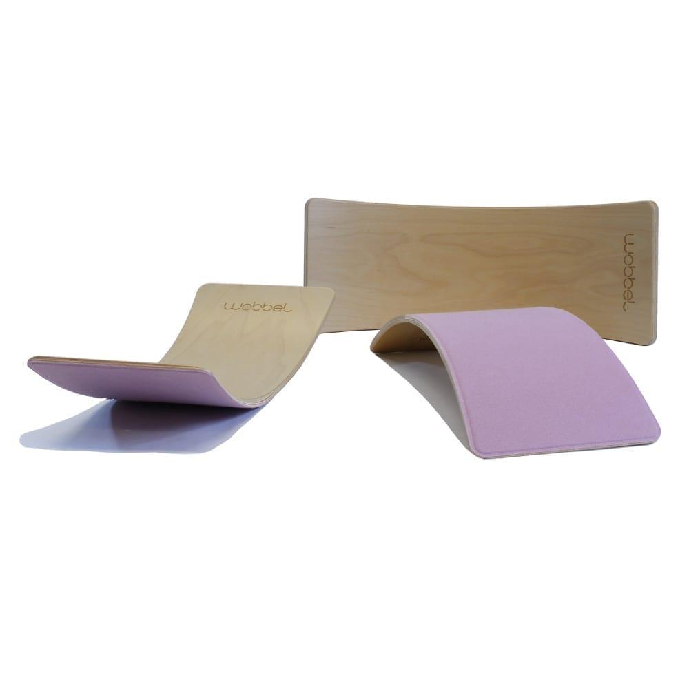 Wobbel – Starter – Balance Board – Wild Rose – 70 x 27,5 cm