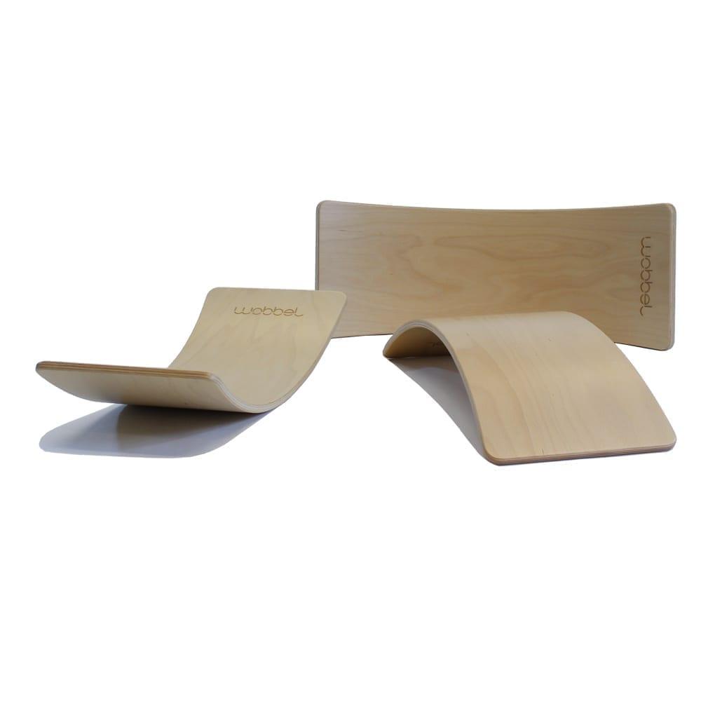 Wobbel – Starter – Balance Board – Without Felt – 70 x 27,5 cm