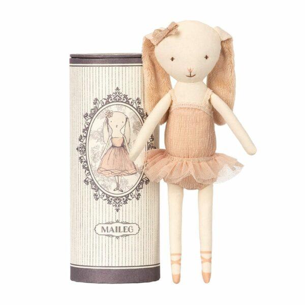 Maileg Dancing Ballerina Bunny - in Tube - 26 cm