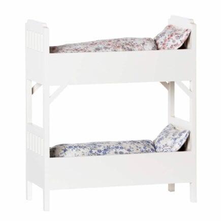 Maileg Bunk Bed - White - 36 cm