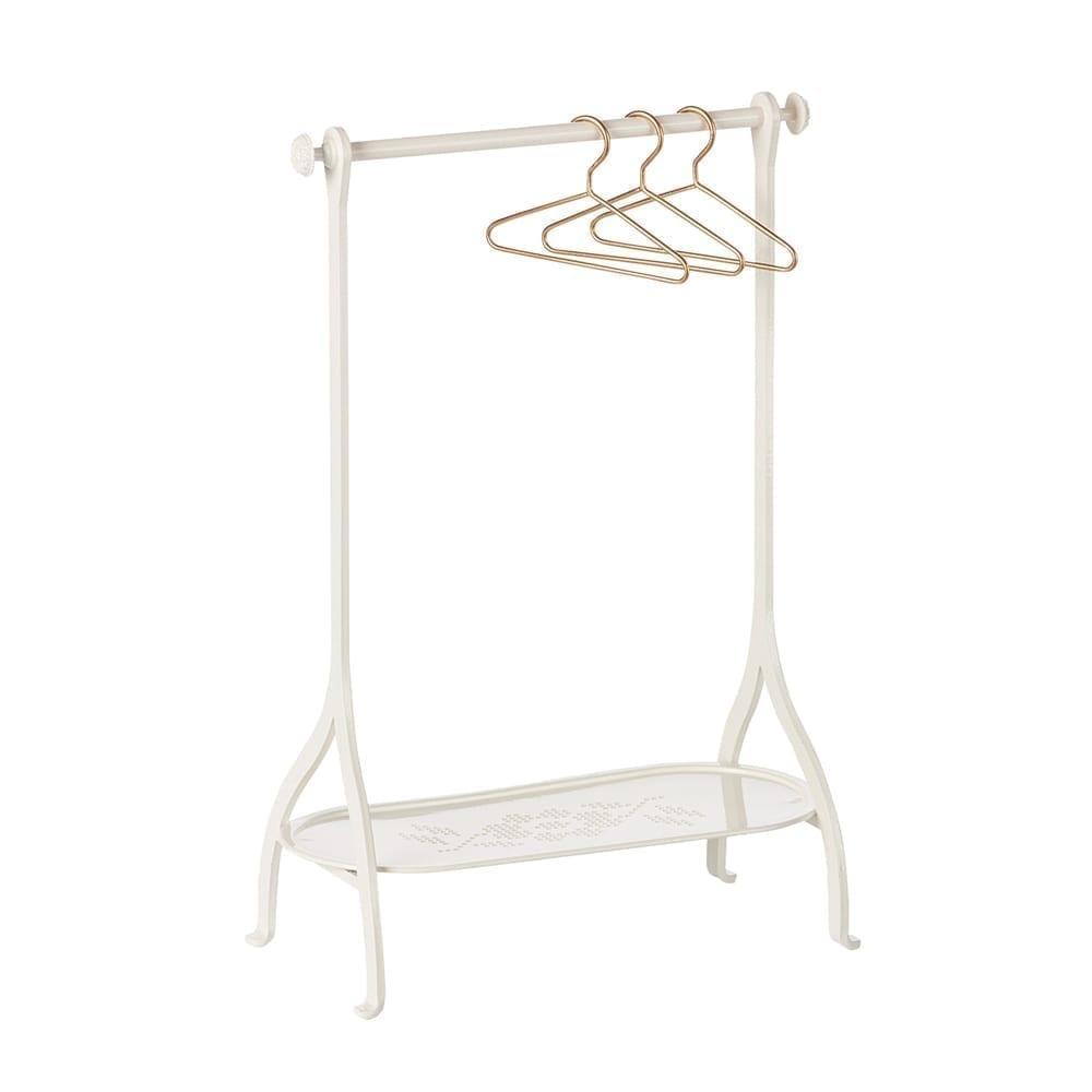 Maileg Clothes Rack - White - 34 cm